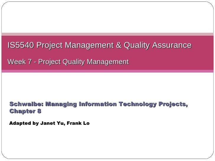 L07 quality management