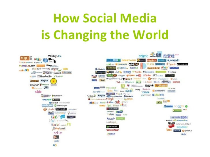 How Social Media is Changing the World