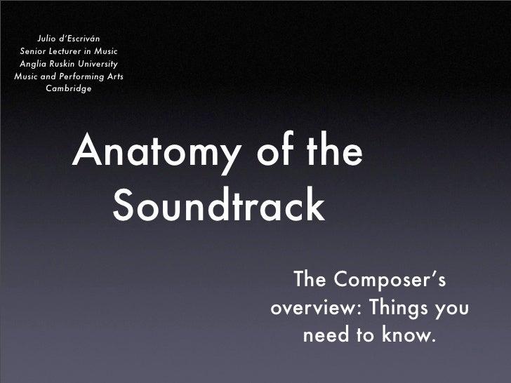L1 The Soundtrack