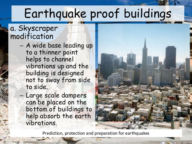 Earthquake Proof Buildings Examples Earthquake Proof Buildings a
