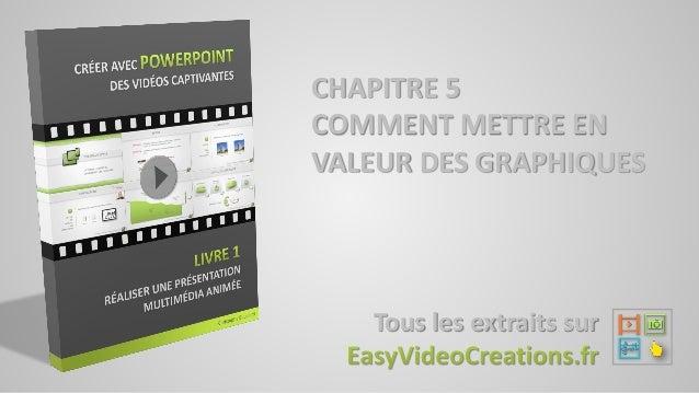 CHAPITRE 5 COMMENT METTRE EN VALEUR DES GRAPHIQUES Tous les extraits sur