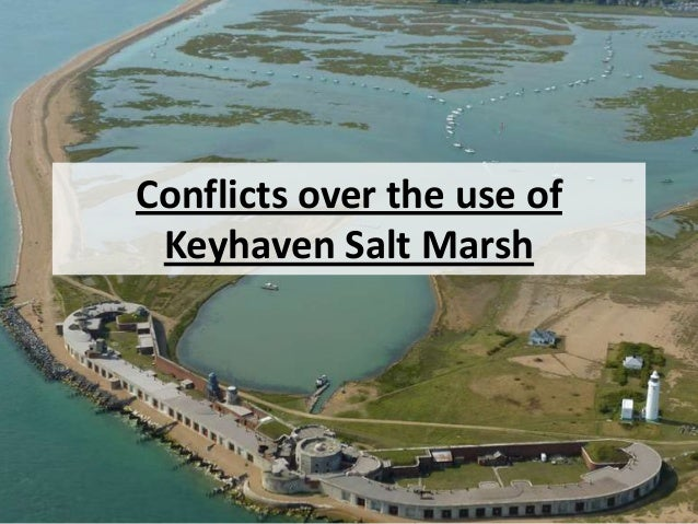 Conflicts over the use of Keyhaven Salt Marsh