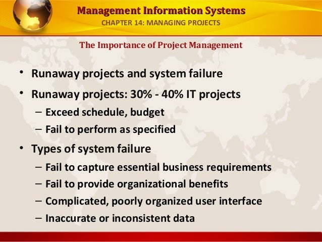 managing information systems essay Paper , order, or assignment requirements the purpose of assignment 2 and assignment 3 is to evaluate your ability to develop a comprehensive implementation proposal for an information system that uses a systems approach.