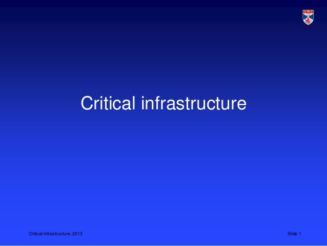 L17 CS5032 critical infrastructure