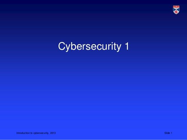 CS5032 L19 cybersecurity 1