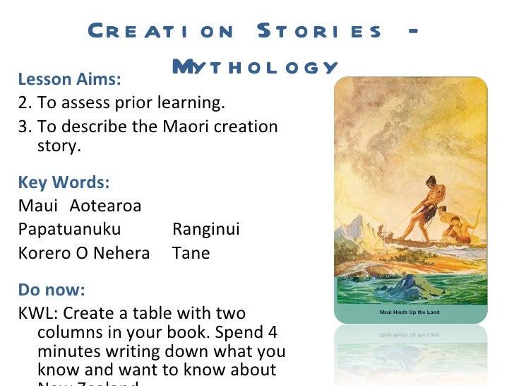L1 Creation Stories - Mythology