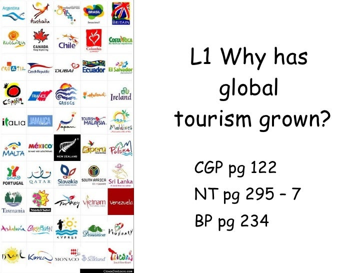 L1 why has global tourism grown nsr