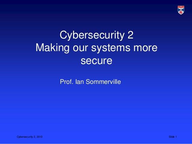CS5032 L20 cybersecurity 2