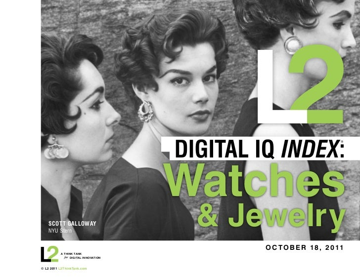 L2 Digital IQ - Watches Jewelry 2011