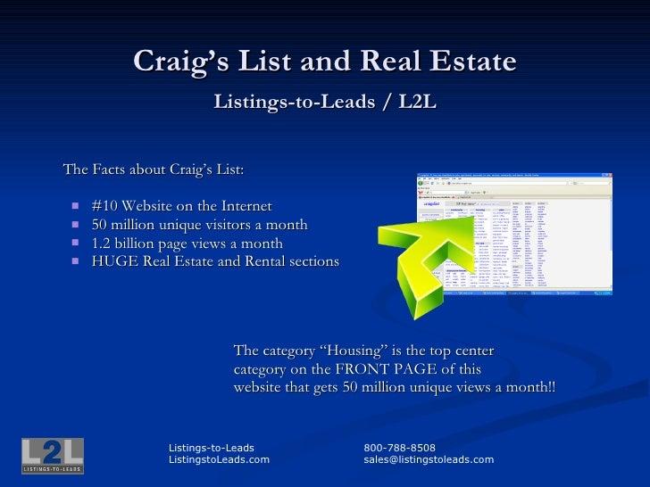 Craigs List Broker
