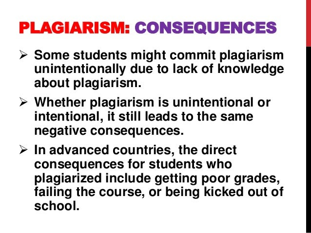 the reason of plagiarism in higher Plagiarism - the taking and all the more reason universities might commission some extensive research into how widespread proven cases of higher education.