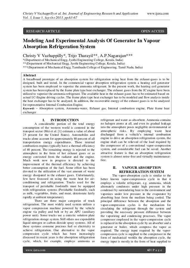 Christy V Vazhappilly et al. Int. Journal of Engineering Research and Application www.ijera.com Vol. 3, Issue 5, Sep-Oct 2...