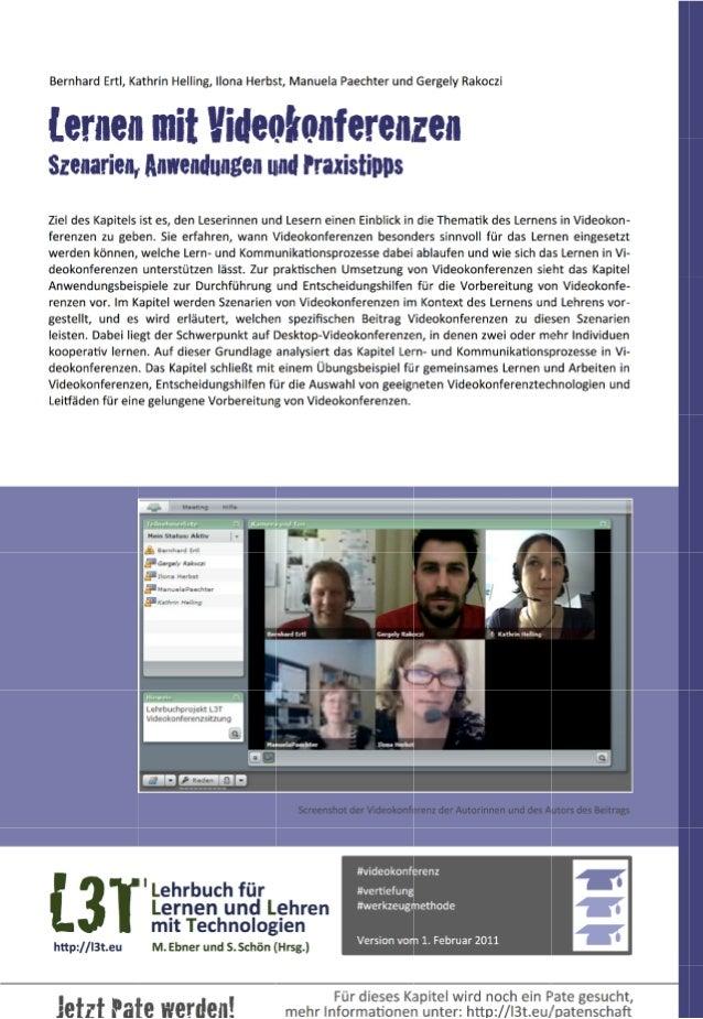 2 — Lehrbuch für Lernen und Lehren mit Technologien (L3T)                                               ...