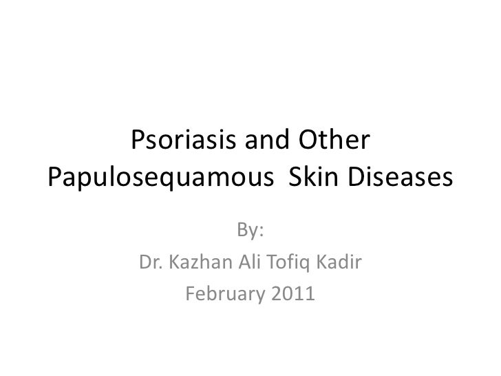 Dermatology 5th year, 4th lecture (Dr. Kazhan)