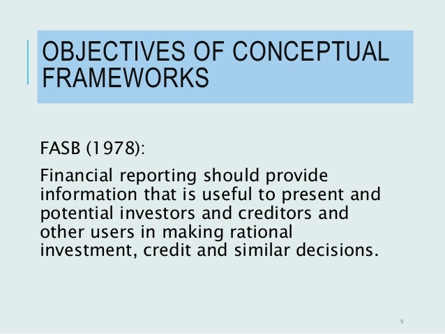 compare and contrast the conceptual framework of the iasb and fasb