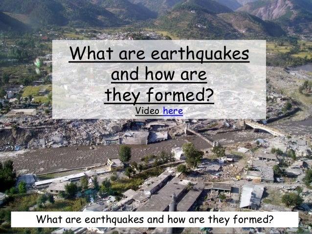 L4 ap earthquakes