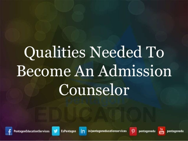qualities of a counsellors A multitude of qualities in evaluating counseling is that like life, counseling is a complex process and people are multifaceted many times people think, if i just had a bit more of this or that.