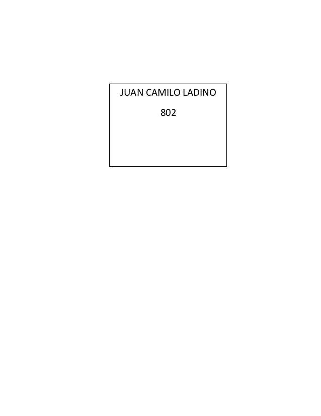 JUAN CAMILO LADINO  802