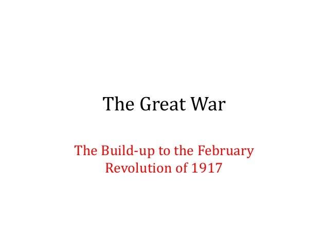 L6   the great war