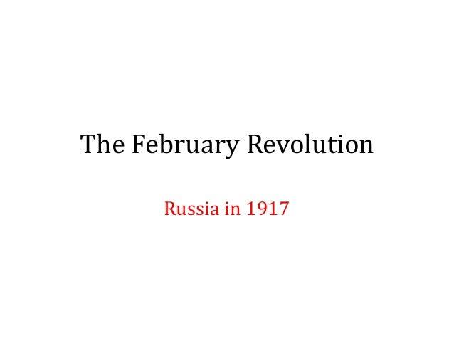 L7   the february revolution