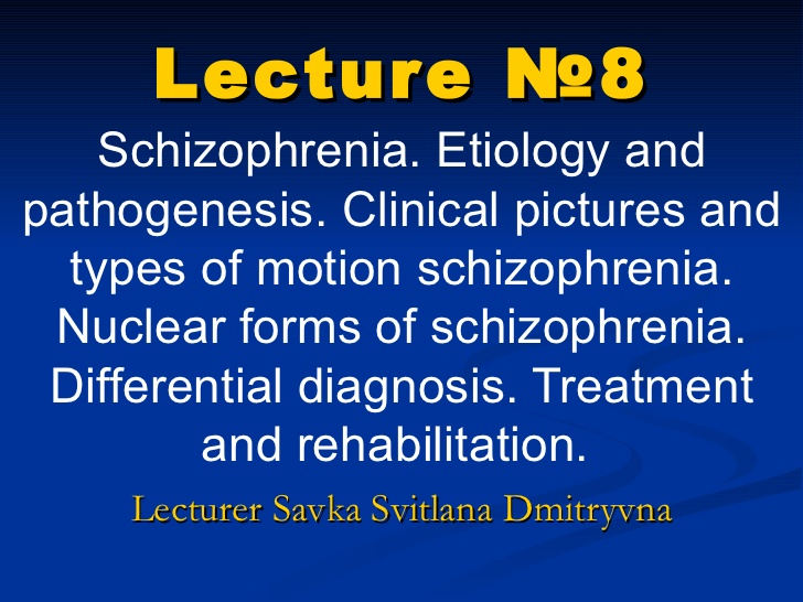 Schizophrenia Unfolding Case Study   QSEN