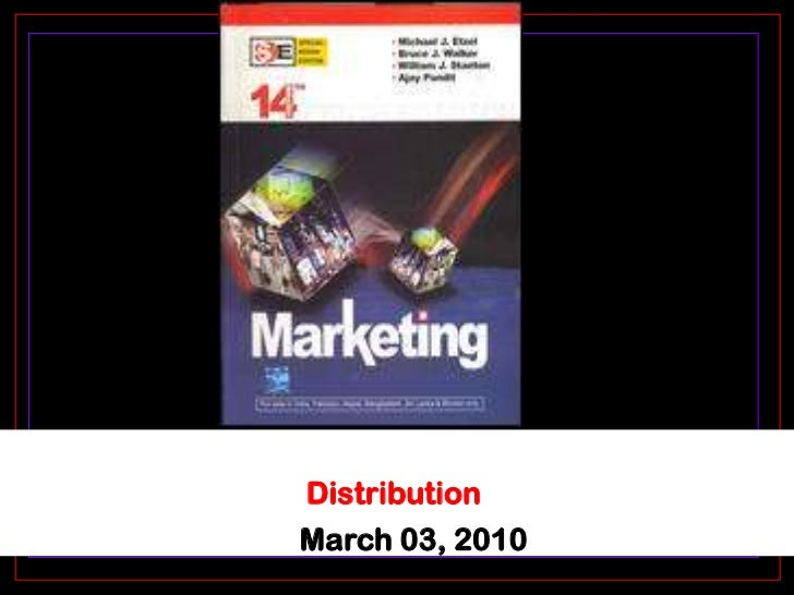 Distribution<br />March 03, 2010<br />
