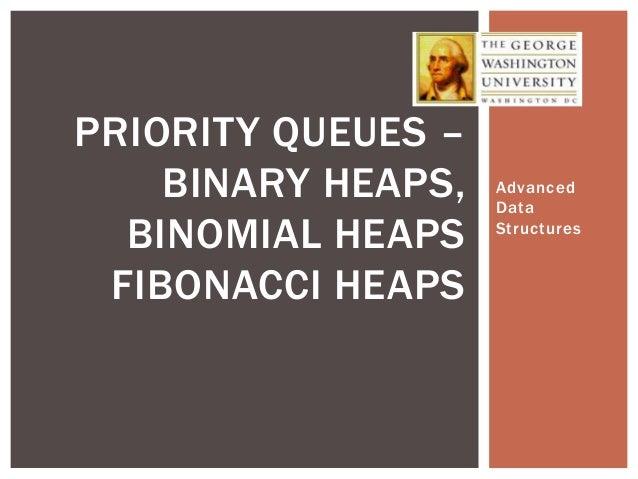 Binomial Heaps and Fibonacci Heaps