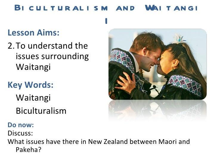 L8 Biculturalism and Waitangi