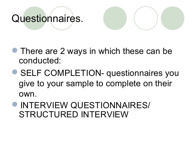 Please complete this questionnaire...it's for my A2 Business C/W?