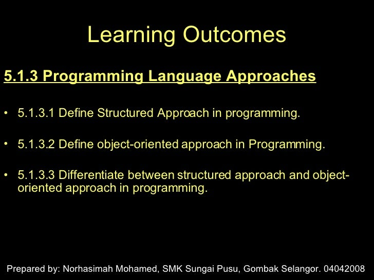 LA5_Generation of Programming Languages