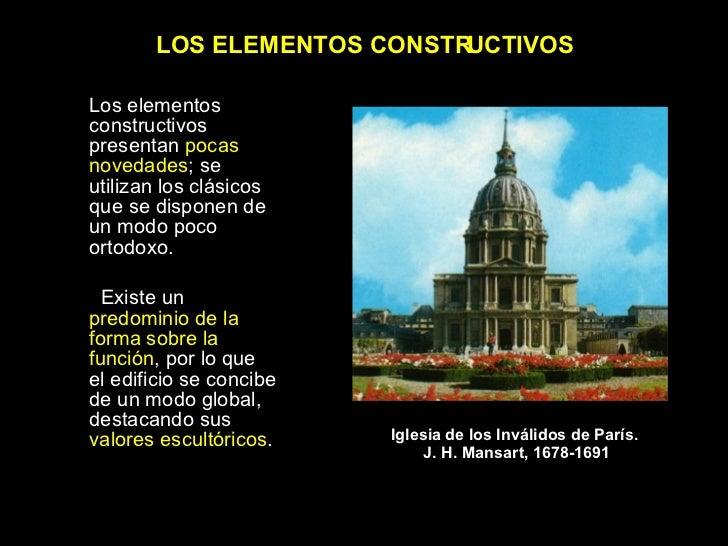 La arquitectura barroca caracteristicas generales for 5 tecnicas de la arquitectura