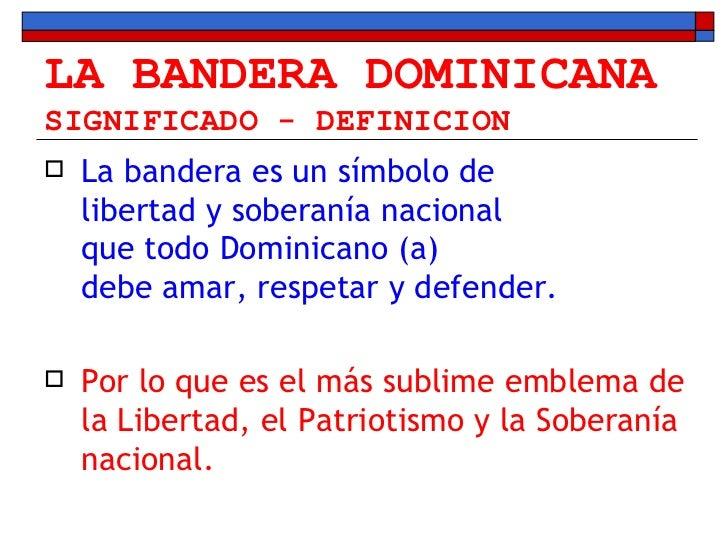 Que Significan Los Colores Dela Bandera Dominicana