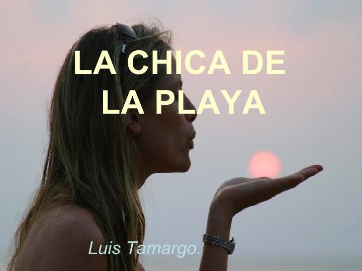 LA CHICA DE LA PLAYA
