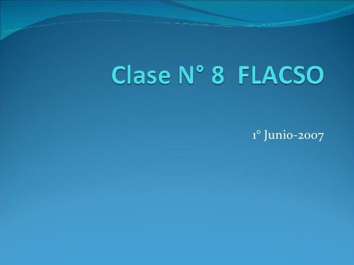 1° Junio-2007