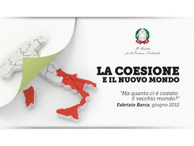 La coesione-e-il-nuovo-mondo