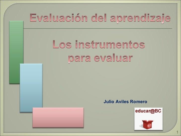 Julio Aviles Romero