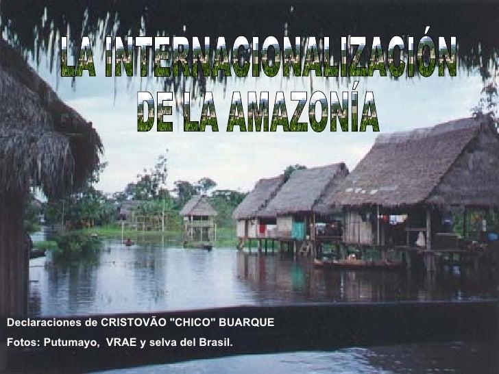 La Internacionalizaciçon de la Amazonia