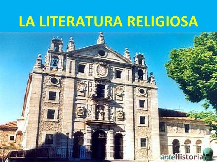 LA LITERATURA RELIGIOSA