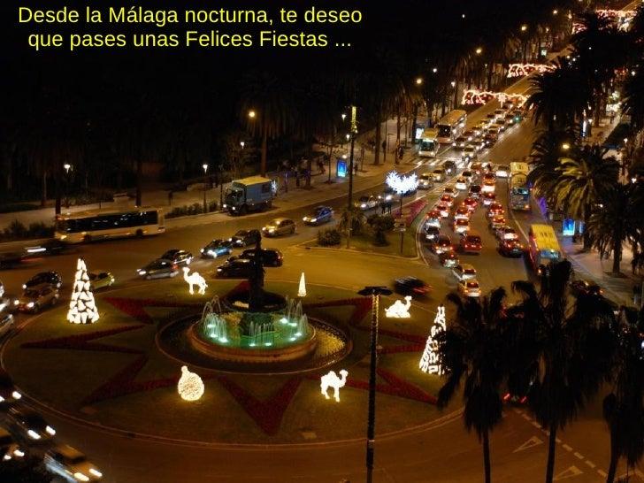 La Navidad En Malaga 2008