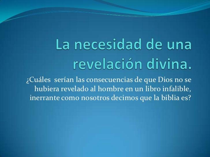 La necesidad-de-una-revelacion-divina