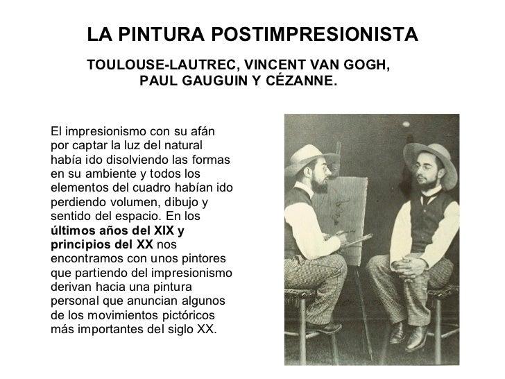 La Pintura Postimpresionista