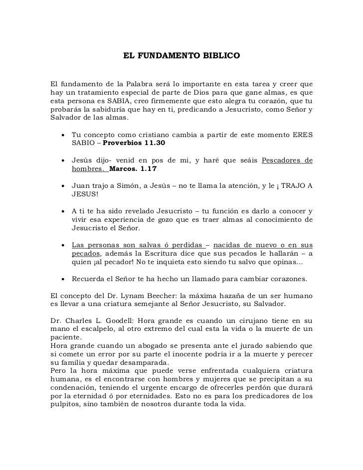 LA PREDICACIÓN DEL EVANGELIO PUERTA A PUERTA-PASTOR:FRANCISCO DE LA PEÑA CANTILLO