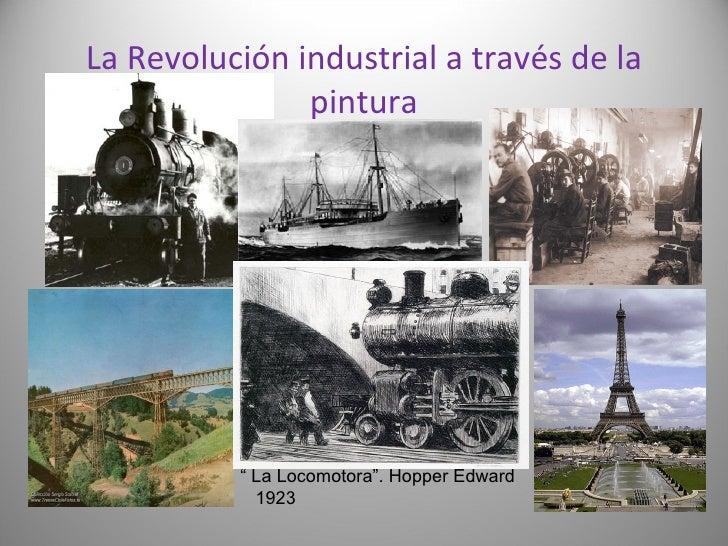 """La Revolución industrial a través de la pintura """" La Locomotora"""". Hopper Edward 1923"""