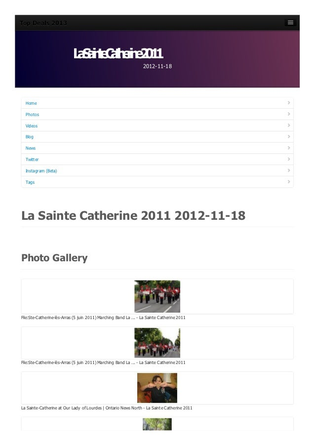 La sainte-catherine-2011