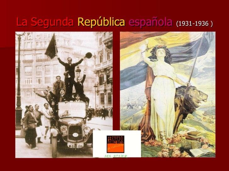 La Segunda Republica