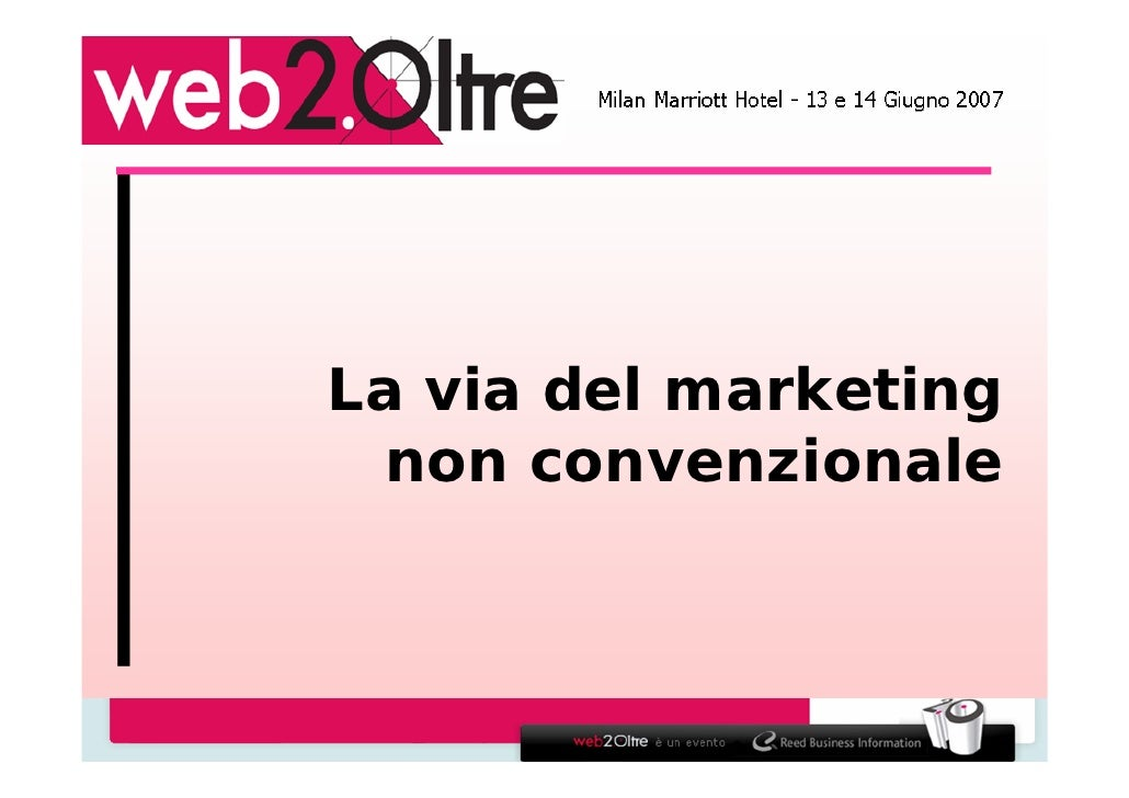 La via del marketing - Ninja Marketing