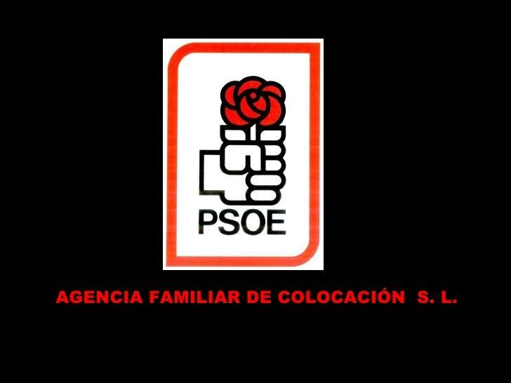 AGENCIA FAMILIAR DE COLOCACIÓN  S. L.