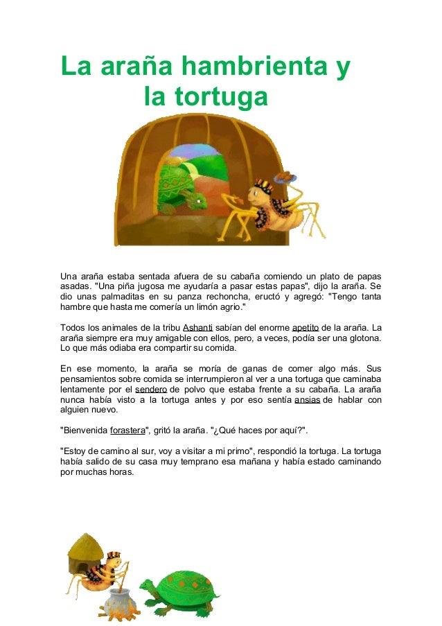 La arana y_la_tortuga