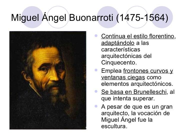 La arquitectura del cinquecento - Arquitectura miguel angel ...