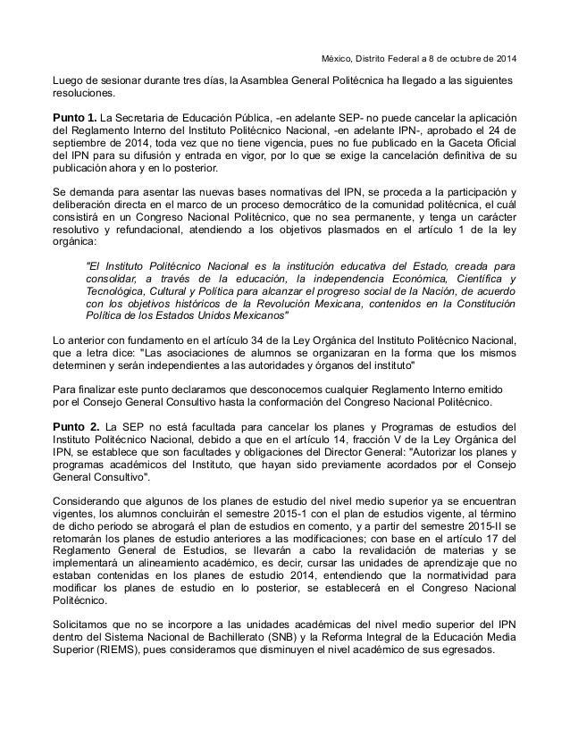 Asamblea Distrito Federal México Distrito Federal a 8